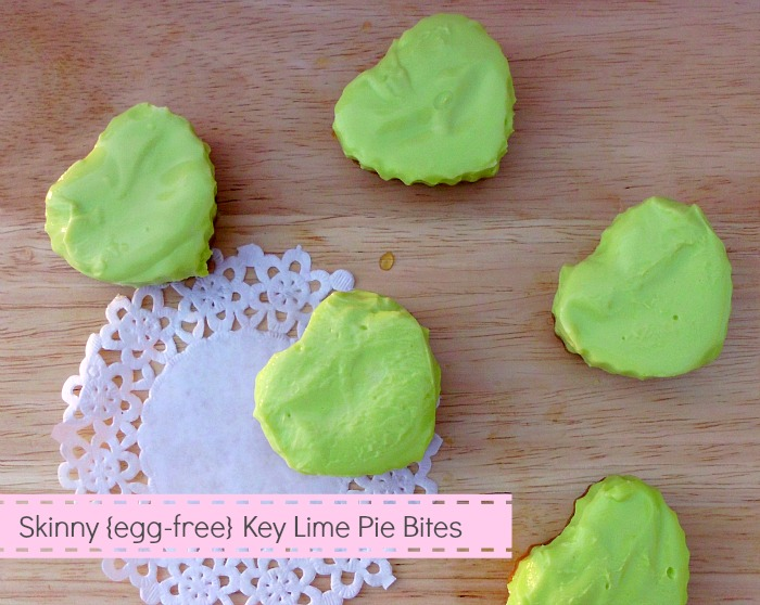 Skinny Egg-Free Key Lime Pie Bites