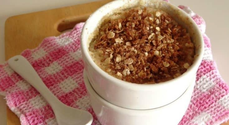 Eggless Microwave Coffee Mug Cake Recipe