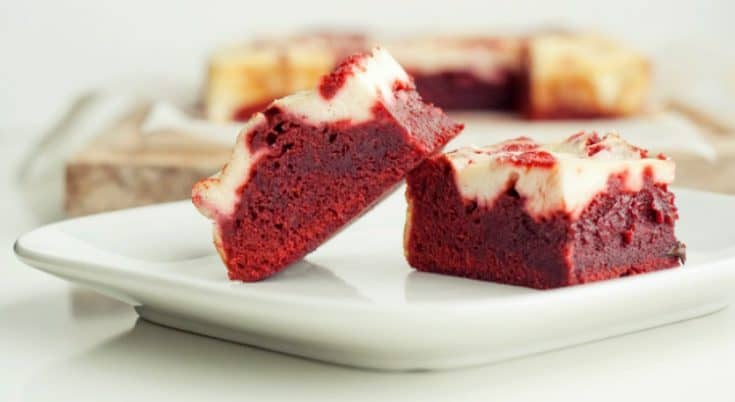Red Velvet Cream Cheese Brownies Recipe