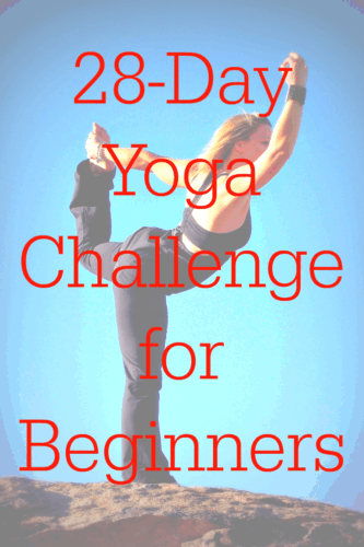 This 28-Day Yoga Challenge for Beginners is so easy and fun to do! So much quicker and cheaper than going down to the gym, plus I can do it at my own pace. Definitely my new favourite workout!
