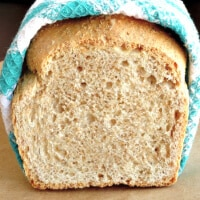 A loaf of healthy whole wheat bread sliced