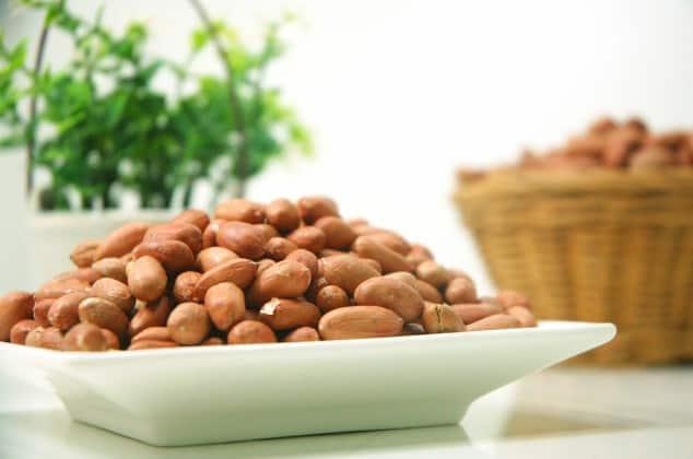 Low FODMAP Snacks - Peanuts