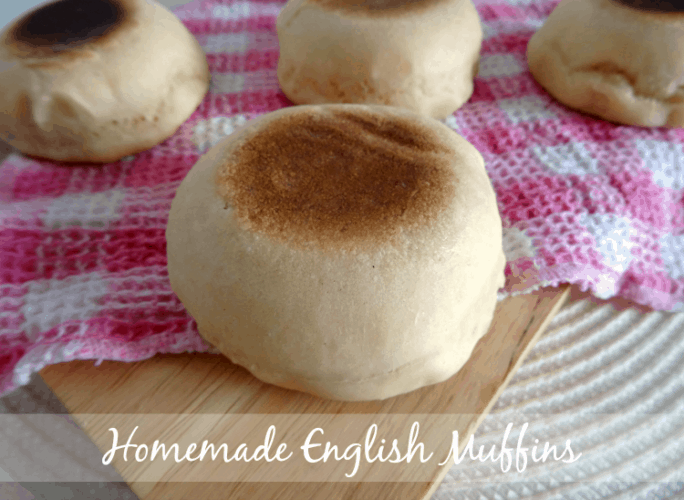Homemade English Muffin Recipe - light and fluffy bakery-like English muffins that are really easy to make and so much better than store-bought! | www.happyhealthymotivated.com