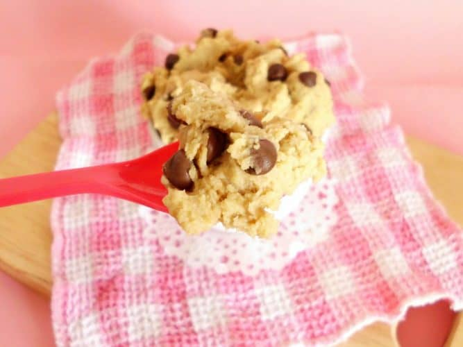 Healthy Egg-Free Cookie Dough Dip | www.happyhealthymotivated.com