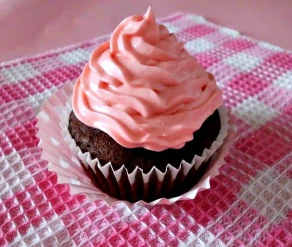 One Bowl Chocolate Cupcake for One Recipe | Single Chocolate Cupcake | Recipe for 1 Cupcake