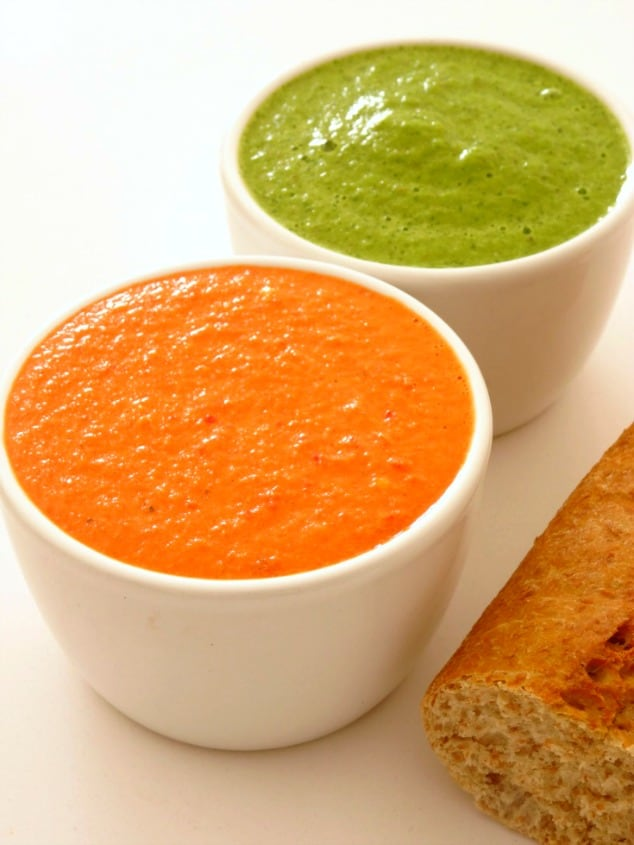 Red and Green Canarian Mojo Sauce Recipes