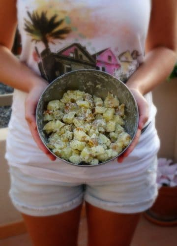 Lightened Up Potato Salad | www.happyhealthymotivated.com