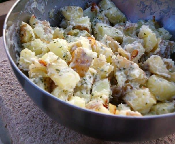 Lightened Up Potato Salad   www.happyhealthymotivated.com