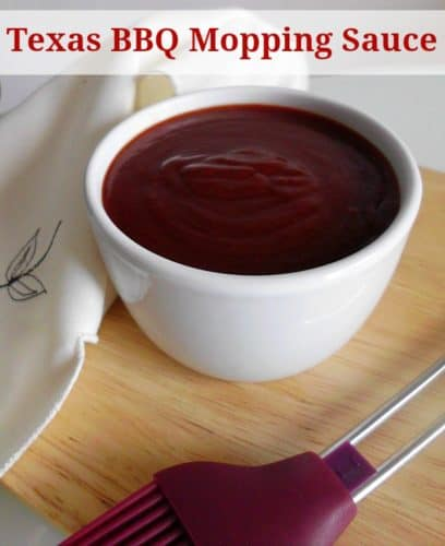 Texas BBQ Mopping Sauce | www.happyhealthymotivated.com