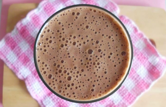 Chocolate Espresso Smoothie | www.happyhealthymotivated.com