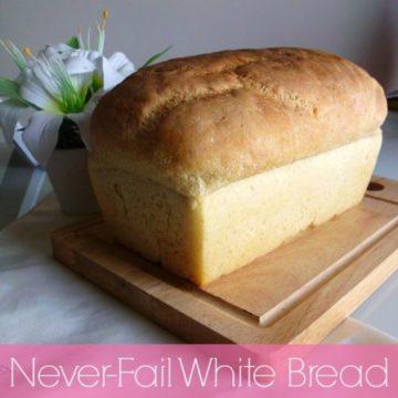 Never-Fail White Bread Recipe   www.happyhealthymotivated.com