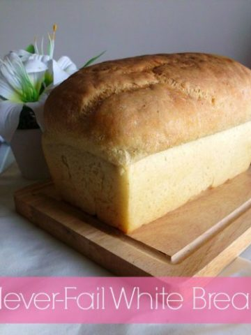 Never-Fail White Bread Recipe | www.happyhealthymotivated.com