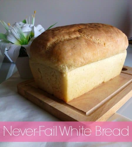 Never-Fail White Bread | www.happyhealthymotivated.com