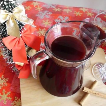 Vodka-Spiked Mulled Wine | www.happyhealthymotivated.com