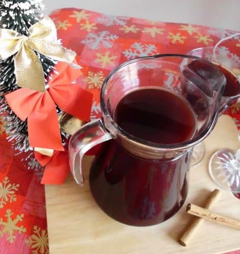 Vodka-Spiked Mulled Wine