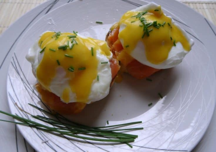 Salmon Eggs Benedict | www.happyhealthymotivated.com