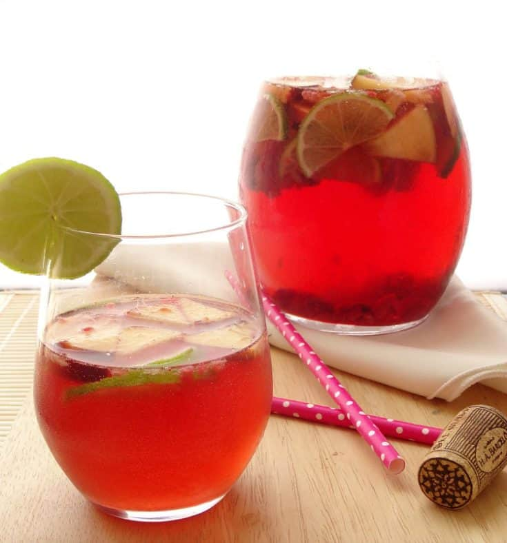 how to make sangria with white wine and sprite