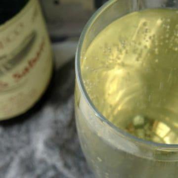 Sparkling Elderflower Punch Cocktail Recipe   www.happyhealthymotivated.com