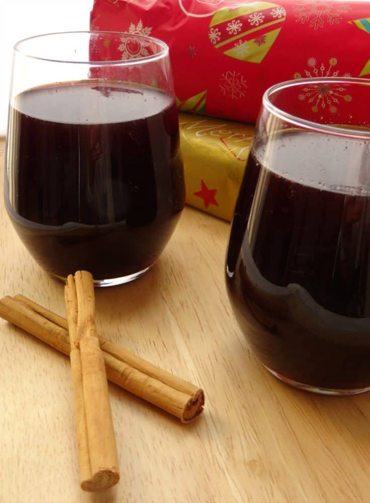 Mulled Sangria Christmas Recipe   www.happyhealthymotivated.com
