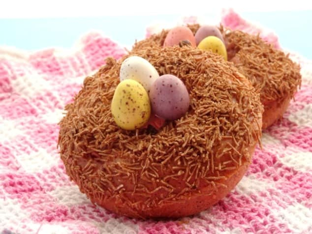 Healthy Baked Donuts For Easter Cute Easter Food Fun