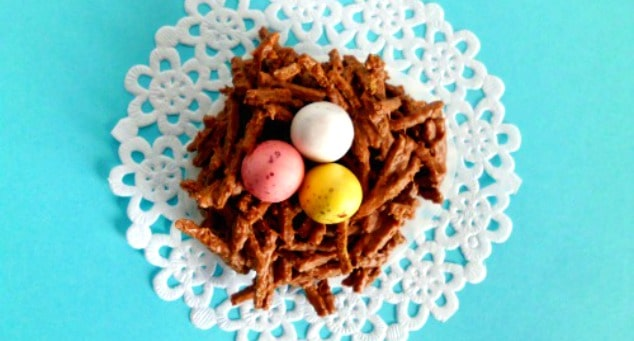 How to Make Chocolate Nests for Easter   Easter Ideas   Easter Food   Easter Recipes