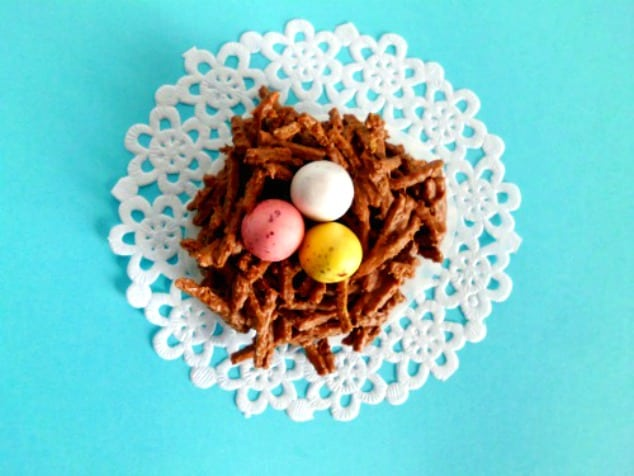 How to Make Chocolate Nests for Easter | Easter Ideas | Easter Food | Easter Recipes