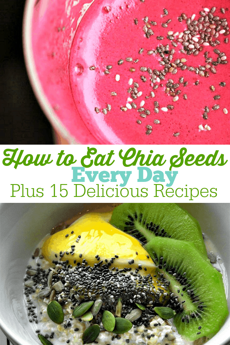 Why Chia Seeds are Amazing and How to Eat Them for Every Meal | more than 15 delicious chia seed recipes that are quick and easy to make! I love adding this healthy seed into every meal, but this post gave me some great new ideas!