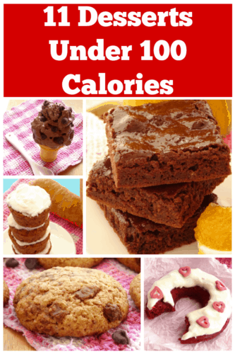 11 Healthy Desserts Under 100 Calories - the next time you're craving something sweet, try one of these desserts. They're healthy and only have 100 calories per portion! This list has been a total life-saver.