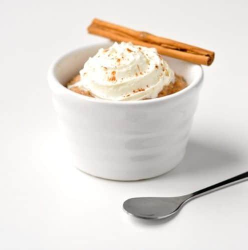 Healthy Cinnamon Roll Mug Cake Recipe