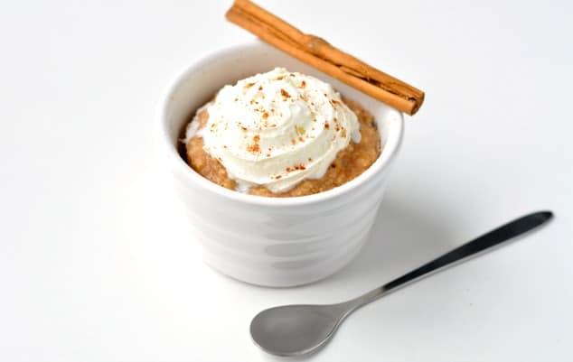 Healthy Mug Cake Yogurt