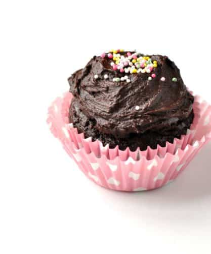 Healthy Chocolate Cupcake For One Recipe