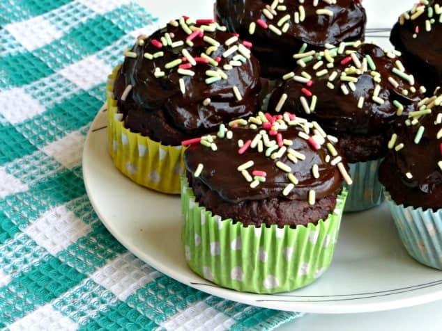 Chocolate Zucchini Cupcakes | Chocolate Zucchini Cupcakes Recipe | Moist Chocolate Zucchini Cupcakes | Healthy Chocolate Zucchini Cupcakes | Kids Chocolate Zucchini Cupcakes