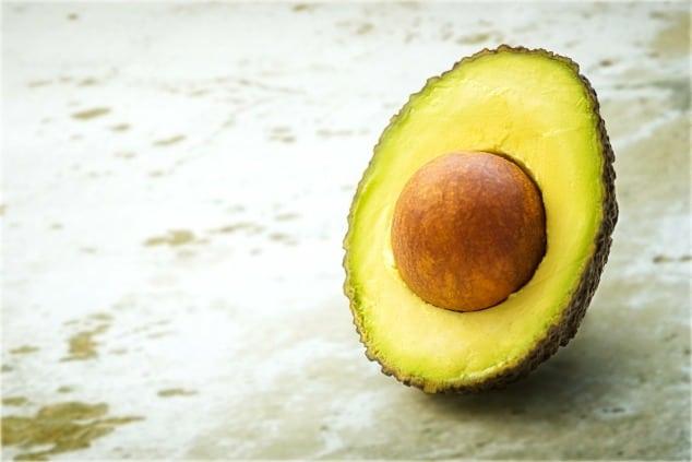 IBS trigger foods - half an avocado