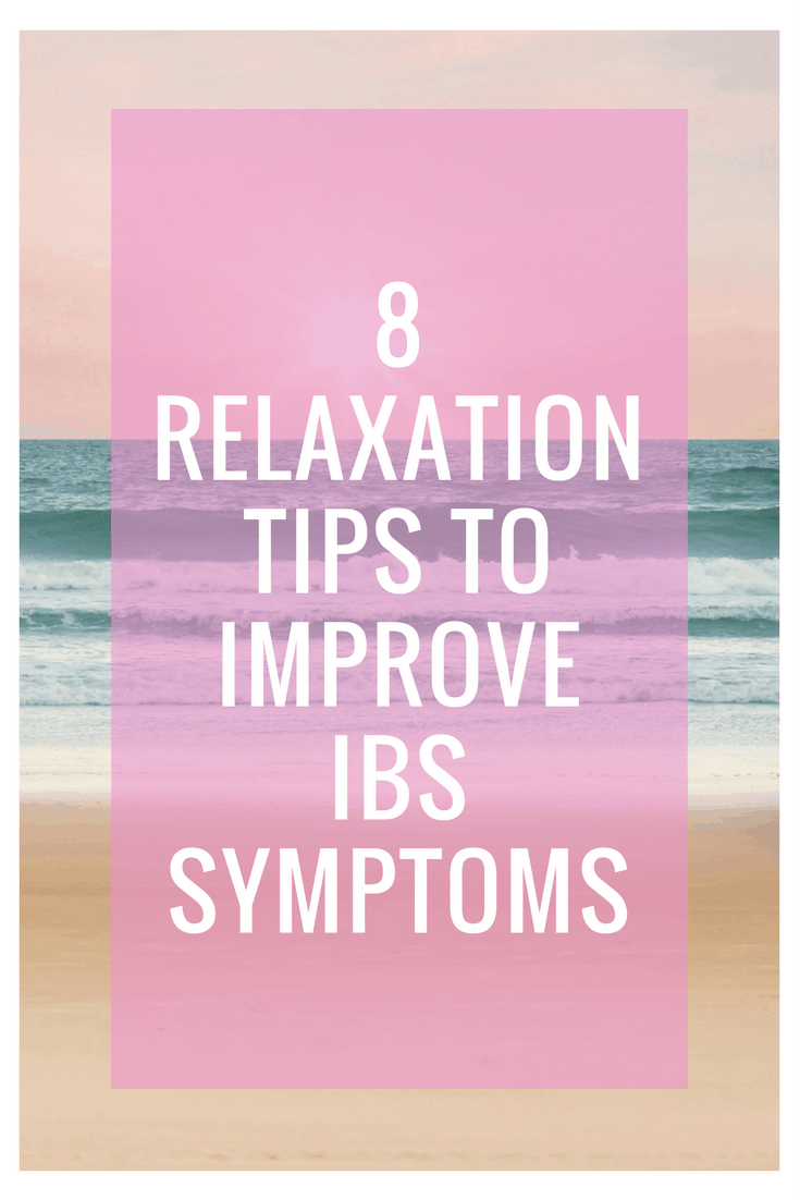 How to Relax to Improve Your Stress Induced IBS | These helpful relaxation tips and relaxation techniques will help give you IBS relief from all kinds of horrible IBS symptoms, including diarrhea and abdominal pain. You'll be surprised at how much stress can affect your IBS!