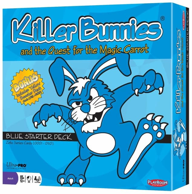 The board game Killer Bunnies and the Quest for the Magic Carrot
