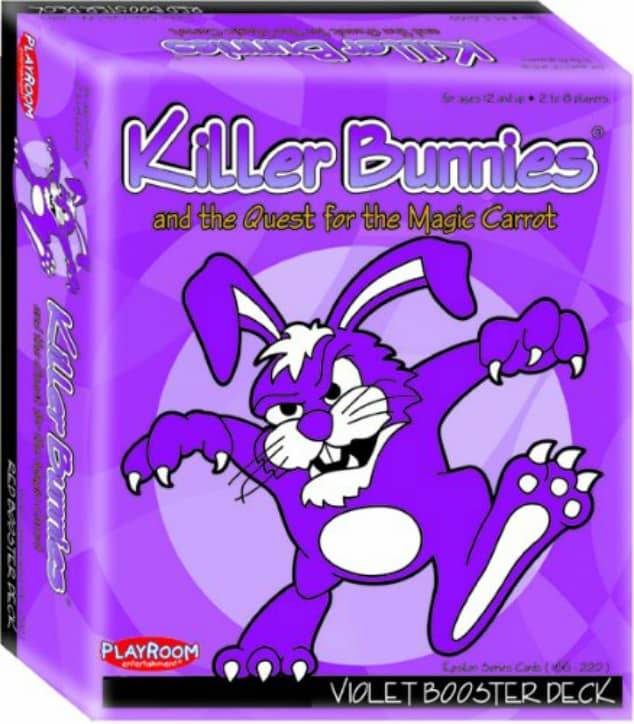The purple booster pack for killer bunnies