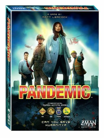 The board game Pandemic