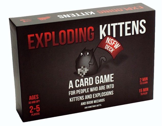 The board game Exploding Kittens