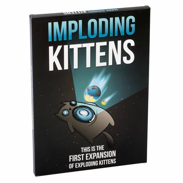 The board game Imploding Kittens