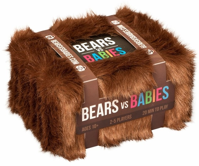 The board game Bears vs Babies