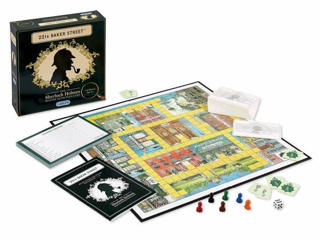 The board game 221B Baker Street
